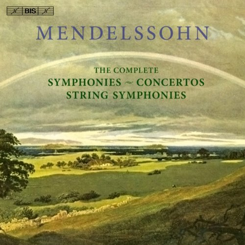 メンデルスゾーン : 交響曲・協奏曲 全集 (Mendelssohn : The Complete Symphonies ~ Concertos String Symphonies) (11CD) [輸入盤]