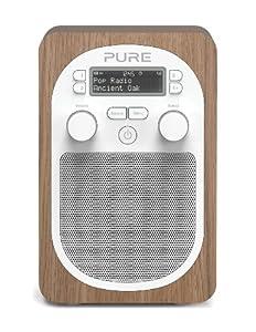 Pure Evoke D2 Portable DAB/FM Radio - Oak