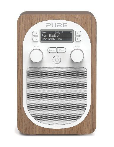 Pure Evoke D2 Portable DAB/FM Radio - Oak