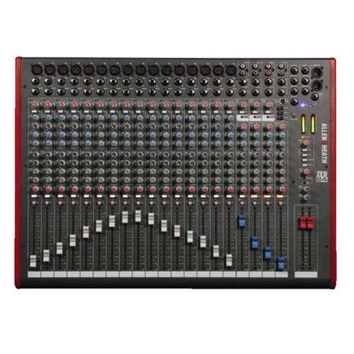 Allen & Heath Zed-24 Mixing Console W/ Usb Port Pa Or Recording Mixer With Computer Io