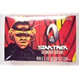 """1999 Star Trek """"Rules Of Acquisition"""" Card Game Booster Box (30 Packs/box, 9 Cards/pack)"""