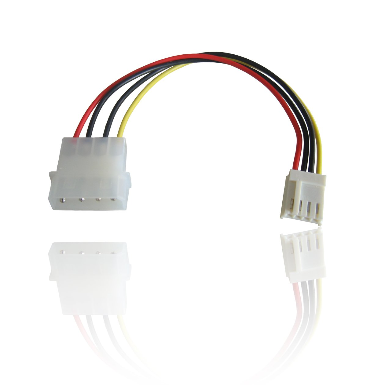 51TAqqrhApL._SL1260_ connect pc fan using floppy to molex power cable components
