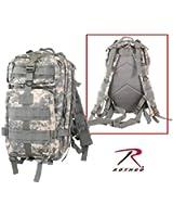 ACU Digital Camouflage Military MOLLE Medium Transport Backpack