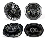 "2) Kicker 40CS654 6.5"" 300W 2-Way"