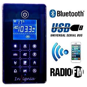 GT4000W Shower Cabin Enclosure Cubicle Steam Bluetooth