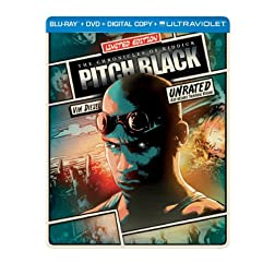 Pitch Black (Steelbook) (Blu-ray + DVD + Digital Copy + UltraViolet)