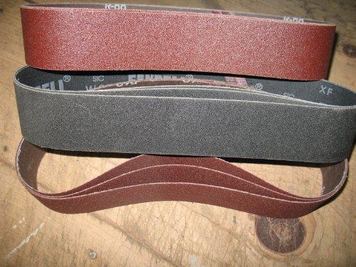 Econaway Abrasives 2X28 9 Piece Abrasive Belt Kit-Fits Eastwood Sander (2 Belt Grinder compare prices)