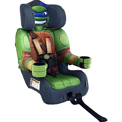 KidsEmbrace Friendship Combination Booster Car Seat, Teenage Mutant Ninja Turtles Leo - 1