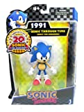 Sonic The Hedgehog 5-inch Through Time Action Figure Sonic Classic 1991