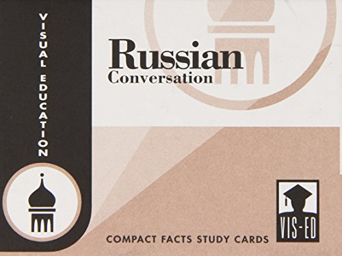 Russian Conversation Cards - 1991