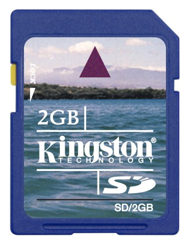 Kingston 2GB Secure Digital Memory Card (SD/2GB, Retail Package)