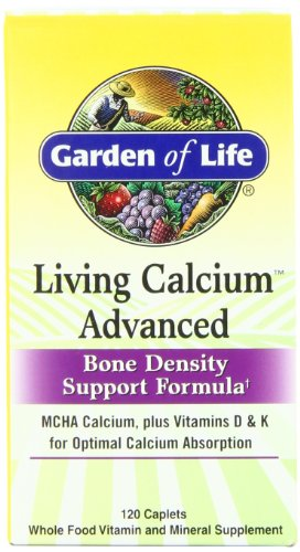 Buy Garden of Life Living Calcium Advanced Bone Density Support Formula, 120 Caplets