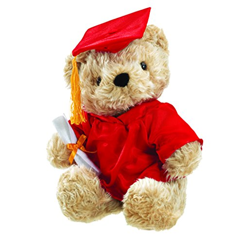 Huggable Grad Bear Red - 1