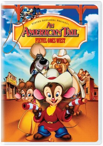 American Tail: Fievel Goes West [DVD] [1991] [Region 1] [US Import] [NTSC]