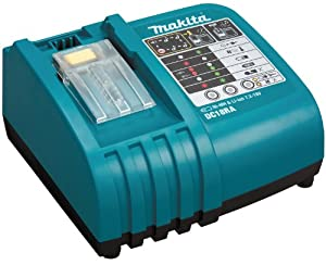 Makita DC18RC  Black LXT Lithium Ion 18V Fast Battery Charger Charges Makita Batteries from 7.2V to 18V