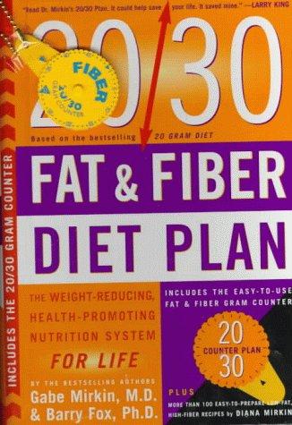 20/30 Fat & Fiber Diet Plan PDF