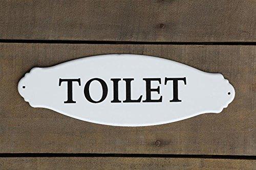 Vintage Toilet Metal Hanging Sign front-437636