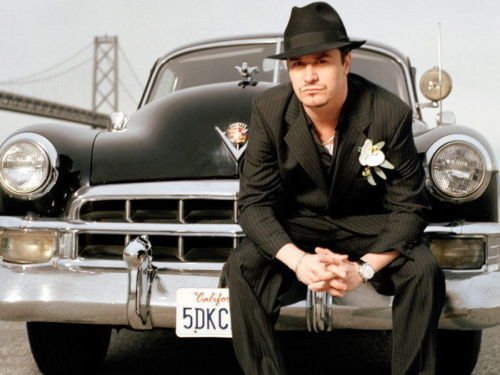 """Europe Style 0909 Mike Patton Singer Mobster Style Music 24x36"""" Print Silk Wall Poster"""