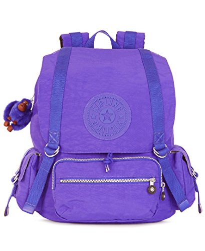 Kipling Joetsu Backpack, Octopus Purple, One Size