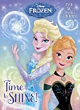 img - for Time to Shine! (Disney Frozen) (Hologramatic Sticker Book) book / textbook / text book