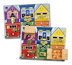 Melissa & Doug Deluxe Latches Board from Melissa & Doug