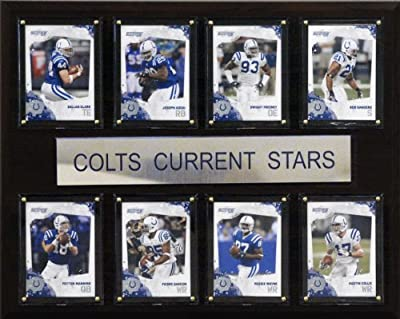 NFL Indianapolis Colts Current Stars Plaque