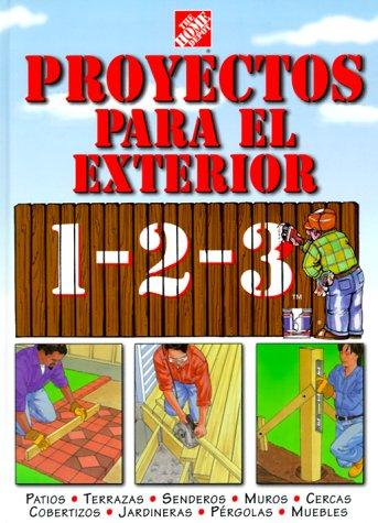 Math Depot: Math Books: Proyectos para exteriores 1-2-3: patios, terrazas, se...