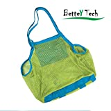 Better Tech sand away Carry All Beach Mesh Bag Tote (Swim, Toys, Boating. Etc.)-xl size