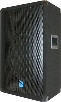 """GEMINI GT-1204 12"""" 400 Watt Portable Carpeted Club/DJ Passive Loudspeaker"""