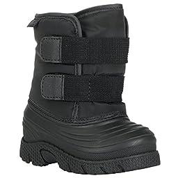 Lugz Infants/Toddlers Flurry Boot Infant,Black Textile,US 5 D