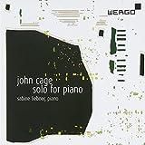 ジョン・ケージ : ピアノのためのソロ (John Cage : Solo for Piano / Sabine Liebner (piano)) [輸入盤]