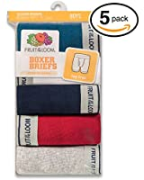 Fruit of the Loom Little Boys' Boxer Brief, (Pack of 5)