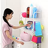 Multifonctionnels-racks-de-machine--laver-Salle-de-bains-rack-de-stockage-balcon-Plancher-dbris-de-finition-tagre-pour-rack-A