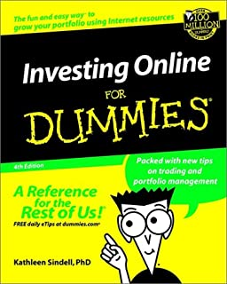 Book Cover: Investing Online for Dummies.