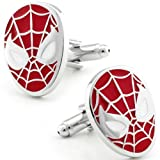 51TBF8Oc7ZL. SL160  Spiderman Stoic Face Mask Cufflinks CL CH 170044
