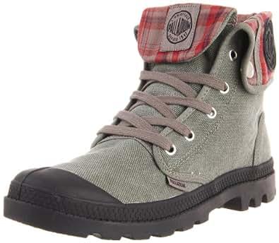 Palladium 92353-090-M, Boots femme - Gris (Stonewashed Metal), 36 EU