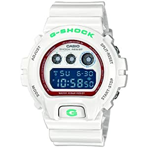 Casio Mens Resin G-Shock Classic Digital Dial Strap (White)