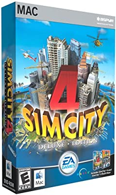 SimCity 4 Deluxe Edition with Rush Hour Expansion Pack