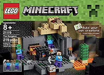 Lego Minecraft 21119 The Dungeon Building Kit by LEGO