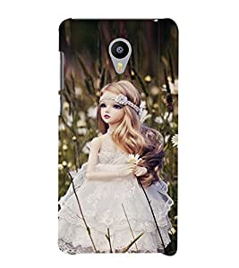 Vizagbeats white doll Back Case Cover for MEIZU M2 note
