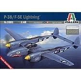 タミヤ イタレリ 1/48 飛行機シリーズ 2681 1/48 ロッキード P-38/F-5E ライトニング 38681