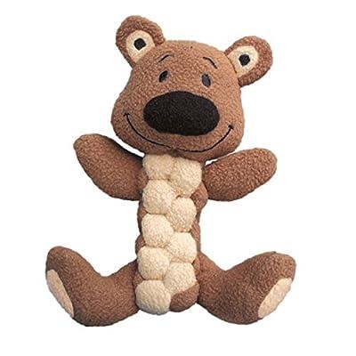 KONG Pudge Braidz Dog Squeaker Toy, Medium/Large