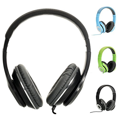 AUSDOM-Lightweght-wire-Over-Ear-HD-stereo-headset-Soft-leather-ear-cups-with-In-line-Mic