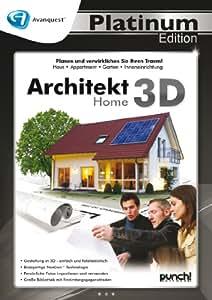 Architekt 3D Home - Avanquest Platinum Edition