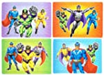 12 x Mini Super Hero Jigsaws Puzzles...