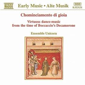 Virtuoso Dance Music from the Time of Boccaccio's Decamerone: Saltarello No. 3