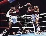 Sugar Ray Leonard Roberto Duran Dual Signed 11x14 Photo 8c - PSA/DNA Certified - Autographed Boxing Photos