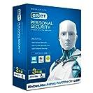 ESET パーソナル セキュリティ 1台3年版(最新版)