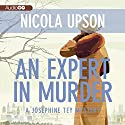 An Expert in Murder (       UNABRIDGED) by Nicola Upson Narrated by Davina Porter