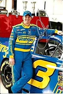 Buy Autographed Earnhardt Jr. Picture - WRANGLER MOUNTAIN DEW 4x6 - Autographed NASCAR Photos by Sports Memorabilia